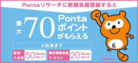 リサーチ ponta ペルソナを作成して近似Ponta会員へのターゲティングなどプロモーション施策(LM)
