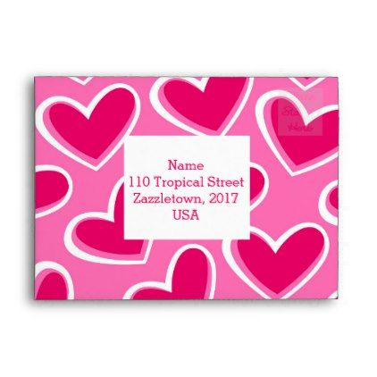 Love hearts envelope - valentines day gifts diy couples special ...