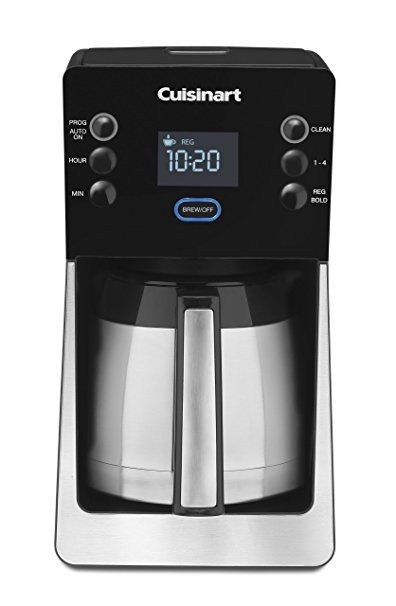 Cuisinart Perfectemp Coffee Maker Thermal Carafe 12 Cup