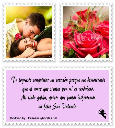 Lindos Mensajes De San Valentín Para Mi Novio Mensajes De