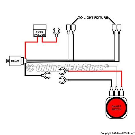 Wiring Diagram For Led Offroad Lights
