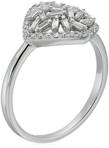 10k Rose Gold Pave Eternity Diamond Wedding Band 1//2 cttw, I-J Color, I2-I3 Clarity