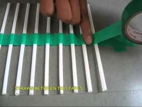 #EDUC325 #StrawWaves HOW TO Only two materials needed. Perfect teaching tools for demonstrating the movement of waves, and frequency.