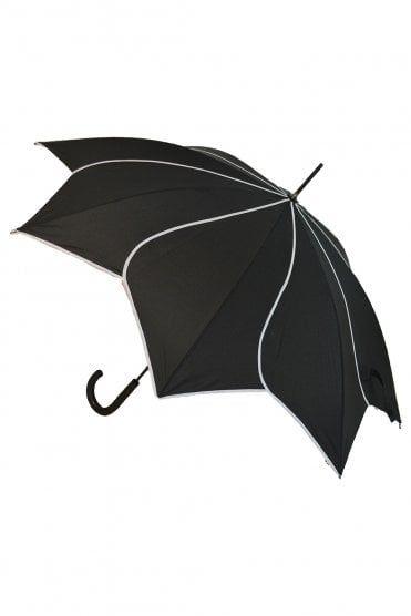 58da62e15c45 Soakes Umbrellas Swirl Walking Stick Umbrella in 2019   Gothic ...
