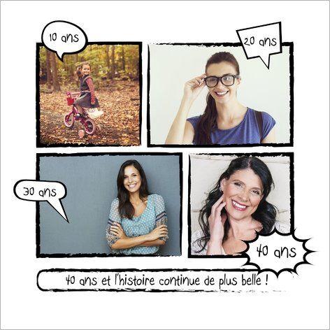 Préférence Carte d'invitation anniversaire bande dessinée : Que vous soyez  CT26