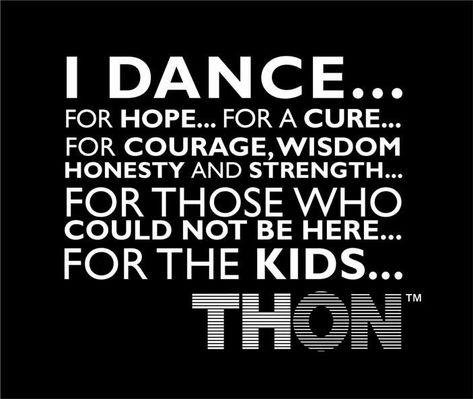 We Dance ForTheKids...Penn State Dance Mara THON ...donate at www.THON.org   WE ARE.