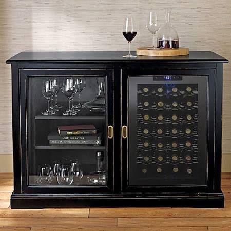 Wine Cooler Cabinet Furniture Buscar Con Google 2095 Wine Credenza Wine Refrigerator Wine Cabinets