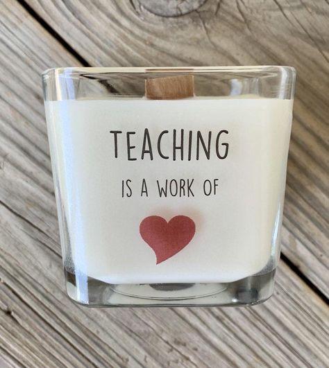 Teacher Gift, Gift For Teacher, Preschool Teacher Gift, Best Teacher Ever Gift, Thank You Gift For Teacher, Personalized Teacher Gift, - Pomegranate Cider / Add Message To Back