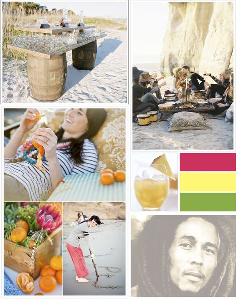summertime party at beach ideas...time to sit back &unwind!