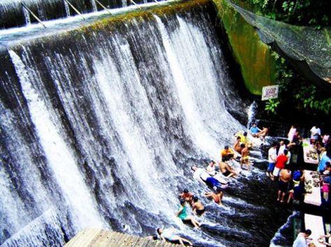 Villa Escudero's Waterfall Restaurant Serves Philippine Cuisine at the Foot of the Falls