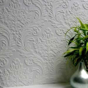 Anaglypta High Trad Paintable Textured Vinyl Strippable Roll Wallpaper Covers 57 5 Sq Ft 437 Rd80027 The Home Depot Paintable Textured Wallpaper Paintable Wallpaper Embossed Wallpaper