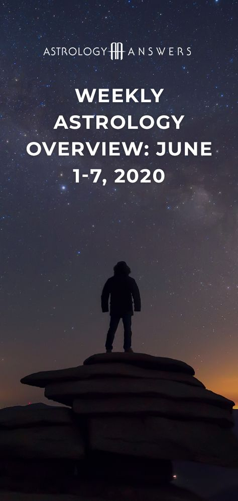 What can you expect from the stars this week? Check out our Weekly Astrology Overview for the week of June 1st - 7th! #astrology #astrologyanswers #weeklyhoroscope #weeklytransits #weeklyastrology