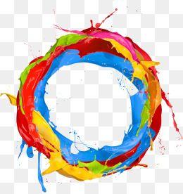 Paint Clipart Color Clipart Circles Color Coating Pigment Paint Circles Clipart Share 3 Paint Color Wheel Rainbow Png Blue Artwork