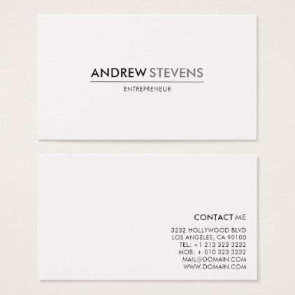 Professional Minimalist Business Card Photographer Gifts Business Diy Cyo Personaliz Minimalist Business Cards Business Card Minimalist Business Cards Simple