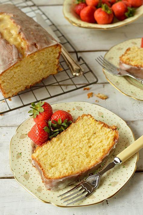 Lemon & cardamom sour cream pound cake - Domestic Gothess