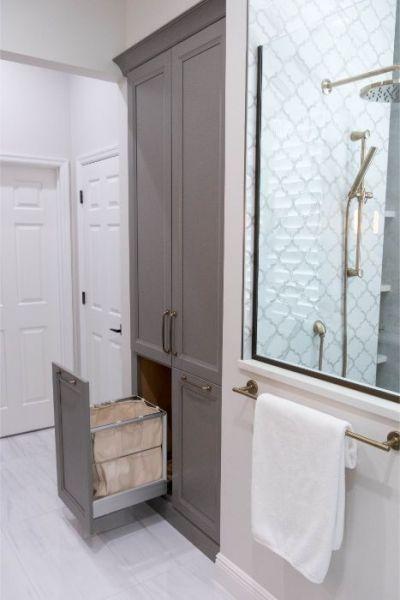 Windermere Bathroom Remodel Kbf Design Gallery Bathrooms Remodel Custom Bathroom Bathroom Built Ins