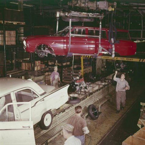 Ford Falcon Assembly Line