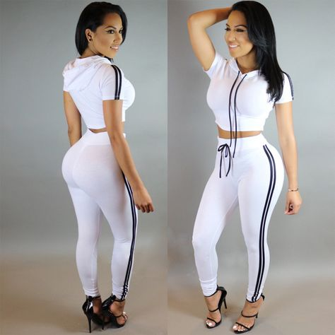 Summer jumpsuits rompers Women Tracksuits Set Cotton Two Pieces Outfits Playsuit Bodycon Jumpsuit Bandage Bodysuit