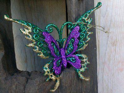 Kerstdecoratie Vlinder Vlinders Kerstdecoratie Decoraties