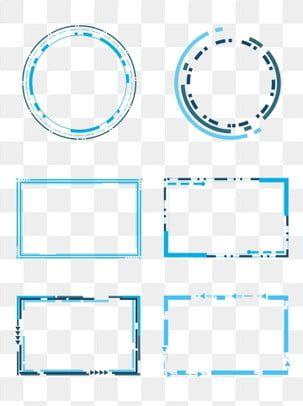 Borda Redonda De Neon Defeituoso Azul Roxo Holografico Circular Falha Imagem Png E Psd Para Download Gratuito Geometric Box Clip Art Geometric