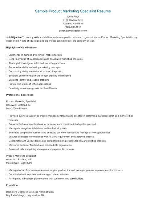 Sample Social Media Specialist Resume resame Pinterest - social insurance specialist sample resume