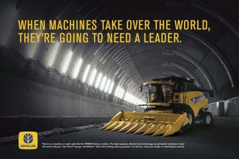 Brilliant headline for New Holland tractors