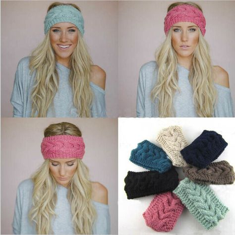 Cheap accessories dell, Buy Quality headband pearl directly from China headband lot Suppliers: Colors Wide Knitted Headband Women's Fashion Hair Accessory Winter Cozy Stocking Stuffer Cable Knit Ear Warmer
