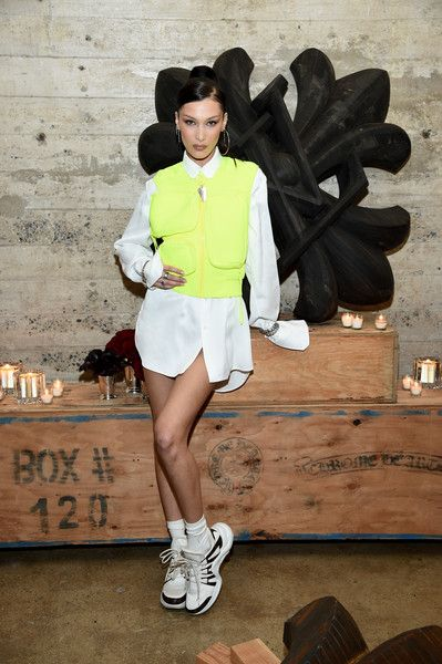 Bella Hadid attends the Louis Vuitton Dinner Mens SS19 Temporary Residency.