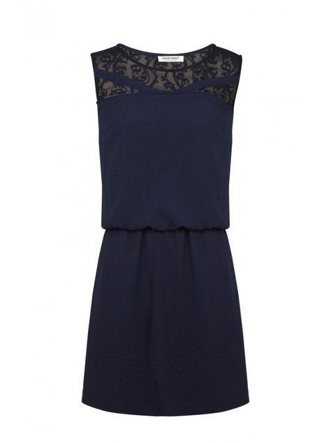 quantité limitée sélection mondiale de prix officiel Naf naf nouvelle co h15 robe cintrée sans manches bleu ...