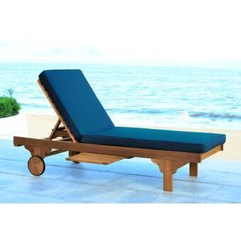 Verrill Double Reclining Chaise Lounge With Cushions In 2020 Lounge Chair Outdoor Outdoor Chaise Lounge Patio Chaise Lounge