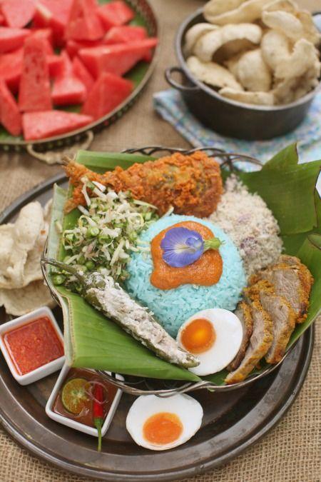 Resepi Nasi Kerabu Kelantan Yang Sangat Sedap Masam Manis Food Asian Recipes Nasi Kerabu
