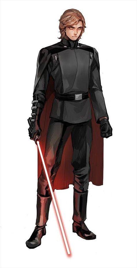 Anakin Skywalker Discover Consumed by Star Wars Feelings Sith Obi-Wan & Anakin Imperials Star Wars Jedi, Rpg Star Wars, Star Wars Humor, Star Trek, Star Wars Fan Art, Star Wars Concept Art, Darth Vader, Anakin Vader, Anakin Skywalker