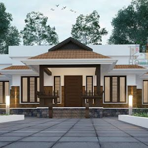 Low Budget Kerala House For 4 Lakhs With 2 Bedrooms In 550 Square Feet Plan Download Free K Kerala House Design Small House Design Kerala Simple House Design