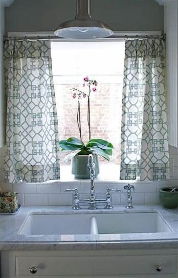31 Ideas For Kitchen Window Ideas Plants Curtain Rods Kitchen