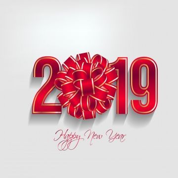 Happy Year 2019 And Mery Chinese Year Of The Happy White