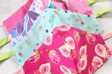 Sew A Close Fitting Fabric Mask With Bias Tape Sewing Sewing Blogs Fabric