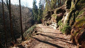 Wandern Sachsische Schweiz Sachsen Deutschland Von Porschdorf