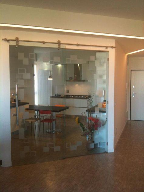 Porta scorrevole cucina | Studio Interior Design | riccardo nel 2018 ...
