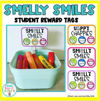 Smelly Smiles Classroom Rewards Freebie Classroom Rewards