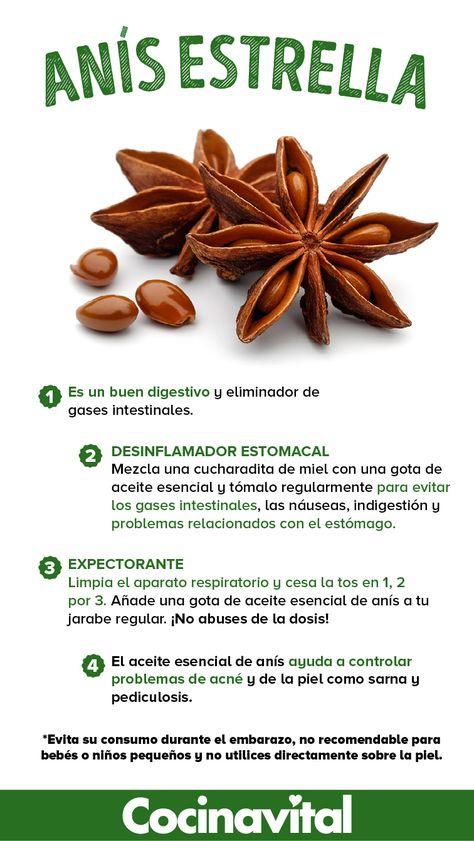 Beneficios del anís estrella para la salud que debes conocer