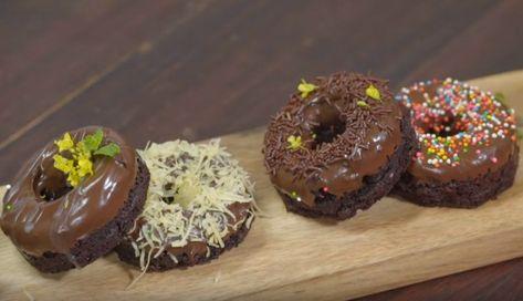 Resep Brownies Donat Untuk Jualan Makanan Makanan Dan Minuman Cemilan