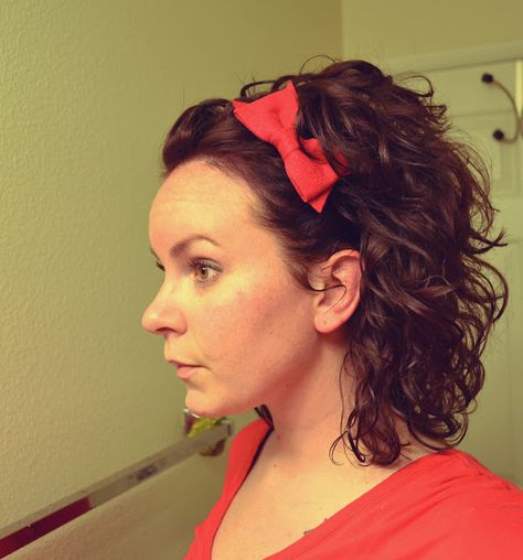 3 ways to wear a hair bow (and not look like a baby)