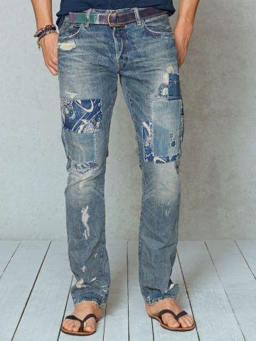 Imagen 1 de PANTALÓN TEJANO de Zara | Pantalones de hombre