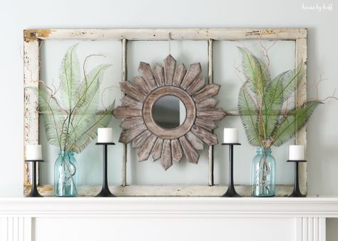 Ideas For Decorating With Old Windows Window Frame