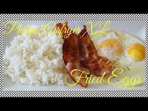 New Gadget Alert How To Make Air Fryer Fried Eggs Eggs Over Medium P Philips Airfryer Xl Eggs Over Medium Air Fryer Recipes