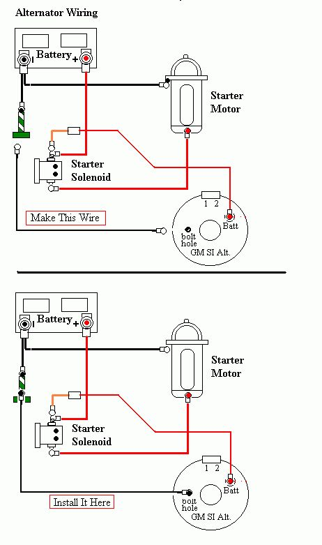 battery ground cable jeepforum com trailer wiring starter motor diagram oljeep& 39; fsj wiring page