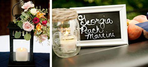 peach themed wedding ideas