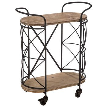 Cross Frame Metal Two Tiered Cart In 2019 Hobby Lobby Table Furniture Furniture