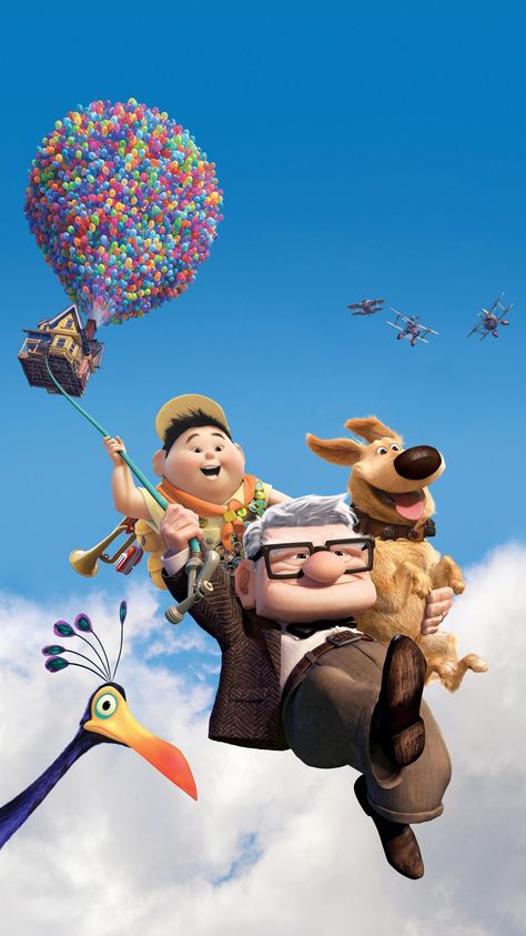 Up (2009) Phone Wallpaper | Moviemania