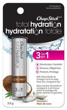 Chapstick Chapstick Total Hydration Coconut Flavour 1 Blister